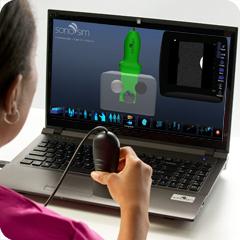 Ультразвуковой симулятор для основы ультразвука: основной клинический модуль