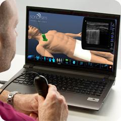 Ultrasound Simulator for Pulmonary: Core Clinical Module