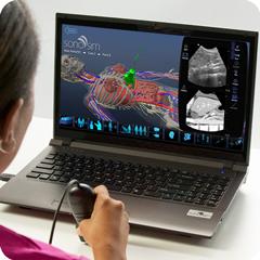 Ультразвуковой симулятор аорты / НПВ: модуль анатомии и физиологии