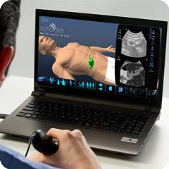 Ultrasound Simulator for Abdomen Package