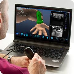Ультразвуковой тренажер мягких тканей: модуль анатомии и физиологии