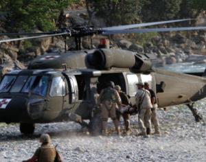 الجدوى من الموجات فوق الصوتية الصدري السرير في إعداد خدمات الطوارئ الطبية طائرات الهليكوبتر
