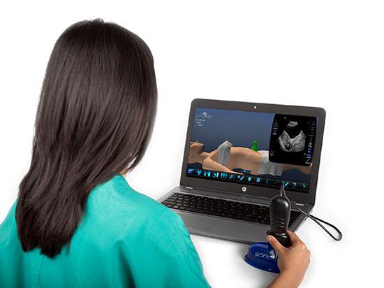 SonoSim超音波トレーニングソリューション