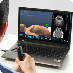 Ultrasound Simulator for OB-GYN Package