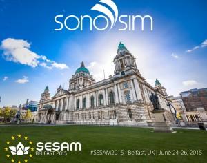 SonoSim en SESAM 2015 en Belfast