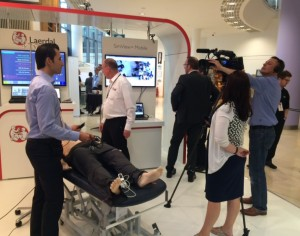 SonoSim International посещает SESAM Belfast 2015