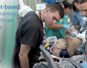 Educación de ultrasonido para profesionales de la salud militar - GSA y ECAT