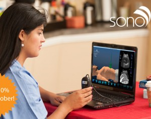 ¡Disfrute de un 10% de descuento adicional para el mes de concientización sobre ultrasonidos!