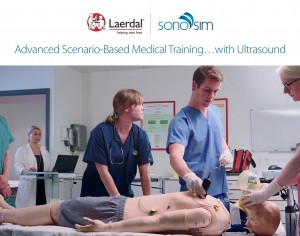 Laerdal Medical and SonoSim Announce Commercial Release of Laerdal-SonoSim Ultrasound Solution