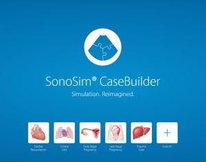 SonoSim libera la creatividad de los educadores médicos con SonoSim® CaseBuilder