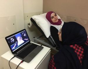Unterstützen, unterstützen, pflegen und unterstützen Sie (SANA) mit SonoSim im Libanon