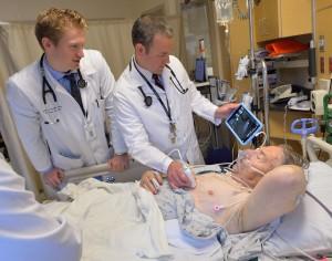 Definition von Ultraschalluntersuchungen in der Inneren Medizin bei Abbott Northwestern - Eine SonoSim-Fallstudie